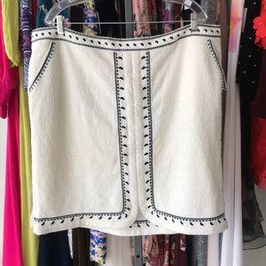 Anthropologie Dolan Textured Skirt